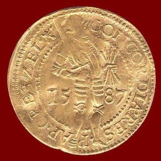 Paesi Bassi - Zelanda - Gouden Dukaat 1587 - Oro