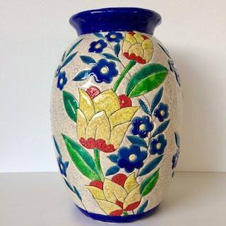 Charles Catteau - Boch Frères, Keramis - Vase (1)