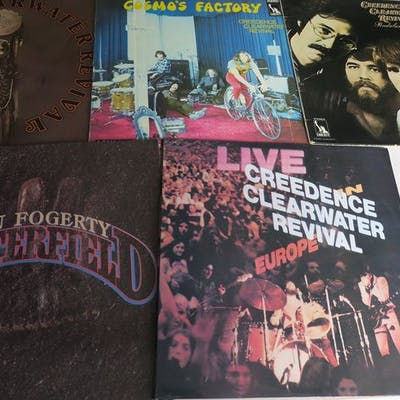Creedence Clearwater Revival & Related - Nice Lot with 5 great Albums of C.C.R