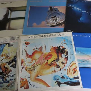 Dire Straits - Nice Lot with 5 great Albums of The Dire...