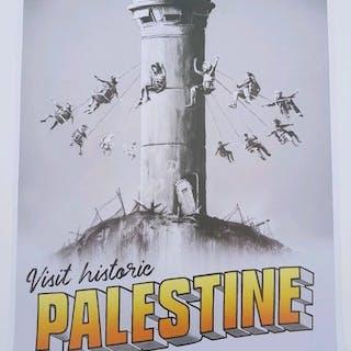 BANKSY - BANKSY Advert / Collectable Visit Palestine...