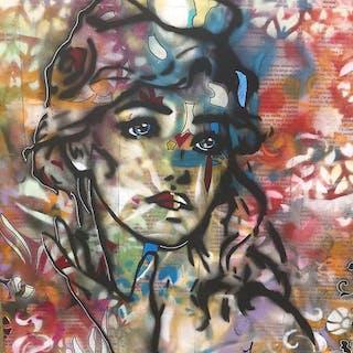 Annie Predal - La petite soeur de Marianne : sur châssis entoilé
