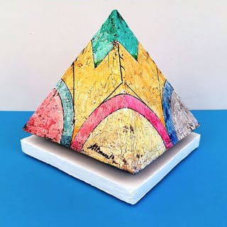 """Sebastiano Altomare - Untitled """" serie piramidi"""""""