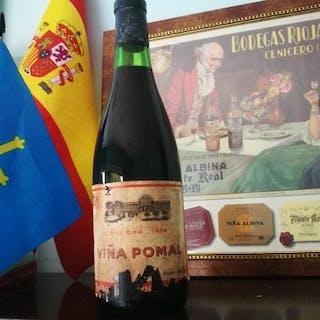 1964 Viña Pomal, Bodegas Bilbainas - La Rioja - 1 Normalflasche (0,75 Liter)