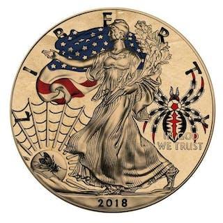 USA - 1 Dollar 2018 - Liberty American Traditional TATTOO...