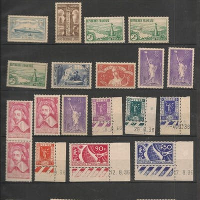 Frankreich 1922/1953 - Collection of stamps