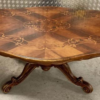 Coffee table - Louis Philippe Style