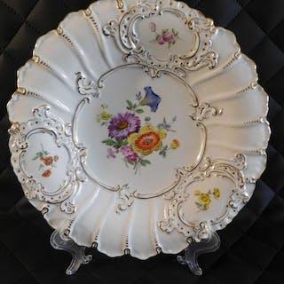 Meissen - Piatto piatto grande - Porcellana