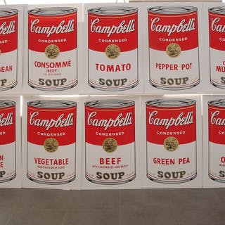 Warhol Andy (after) - Campbell's Soup One