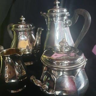Service à café (4) - Argent 925 - France - Milieu du XIXe siècle
