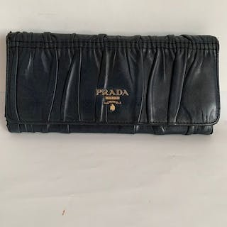 Prada - Miu Miu - Nappa Gaufre Long wallet/clutch no tax