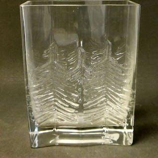 Tapio Wirkkala - Iittala - Vase (1) - Glas