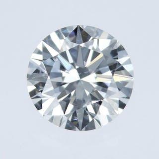 1 pcs Diamond - 0.61 ct - Round - E - SI1