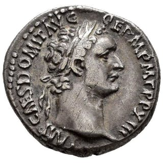 Roman Empire - Denarius - Domitian (81-96 A.D.) Rome 92-3 A.D