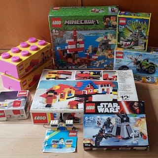 LEGO - (9 Sets) Star Wars + Minecraft + Chima + Creator +...