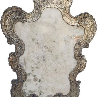 Mirror in the shape of a cartagoria