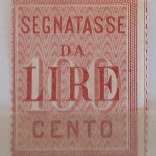 Italia, Regno - Segnatasse - 1884/1903   - Sassone N. 15-16, 31-32