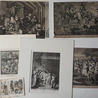 23 prints by William Hogarth (1697-1764) - Collection Hogarth