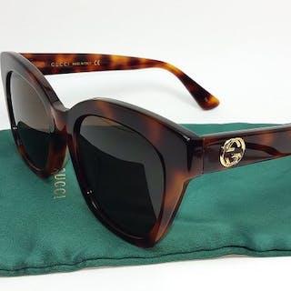 Gucci - Brown Havana Frame Sonnenbrillen