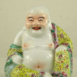 Figur von Budai - Porzellan - China - Republik Periode (1912 - 1949)
