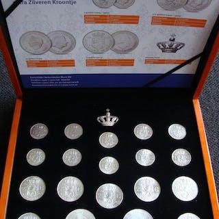 Paesi Bassi - 1 gulden t/m 10 gulden 1954/1973...