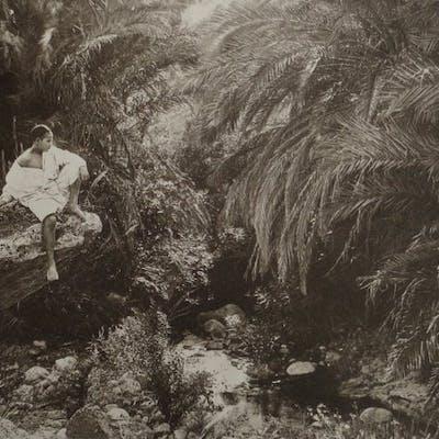Lehnert & Landrock (XIX) - Jeune bédouin dans la palmeraie de Biskra