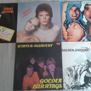 Golden Earring, David Bowie - Diverse Titel - LP's - 1976/1986