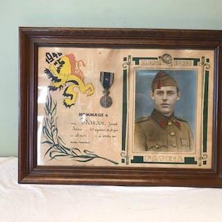Belgien - Armee/Infanterie - Medallie