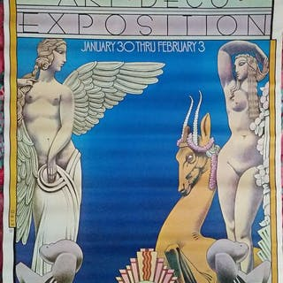 David Byrd - New York Art Deco Exposition. - 1974