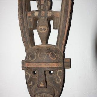 Maske - Holz - Marka Dafing - Burkina Faso