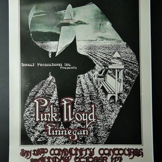 Pink Floyd - limited rare concert poster /Convention...