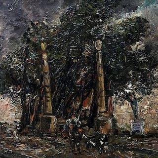 Casciaro Guido (Napoli 1900 -1963) - Villa Belvedere -Napoli-