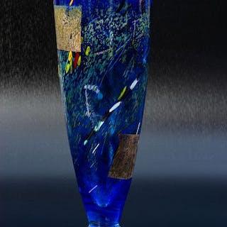 Bertil Vallien - Kosta Boda - Satellitenvase - Höhe 29 cm - Glas