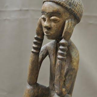 Statue(s) - Wood - Pende - Congo DRC