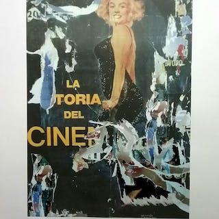 Mimmo Rotella - Marilyn
