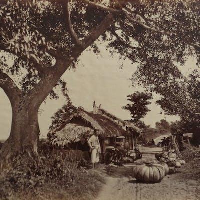 Attr. Charles Edouard Hocquard (XIX) - Auberge annamite, Bac Ninh.