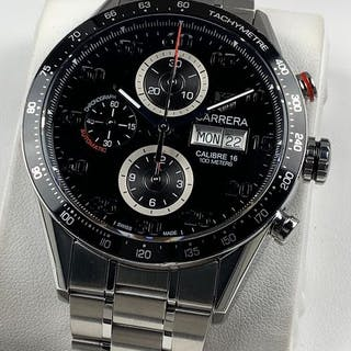 TAG Heuer - Carrera Calibre 16 Day Date Chronograph...