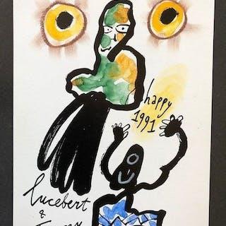 Lucebert - Nieuwjaarswens - 1991