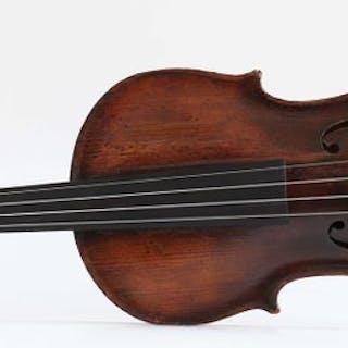 Labeled B. Calcanius - 4/4 - Violino - Italia - 1745