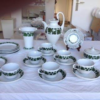 herend - meissen coffee set (22) - Porcelain