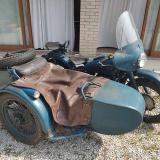 Ural - M72 - 750 cc - 1960