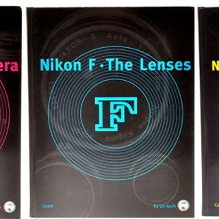 "Nippon,books Trilogy ""Nikon F"" by Uli Koch"