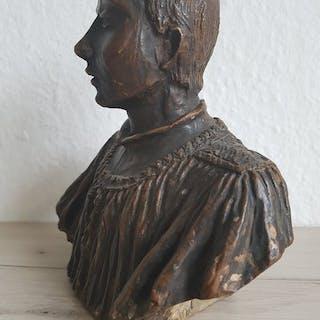 unbekannt-Terrakotta Büste (1) - Renaissance-Stil - Terrakotta