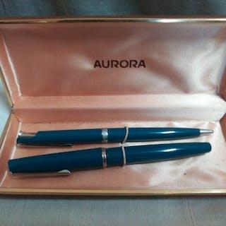 Aurora - penna stilografica auretta e penna a sfera - 2