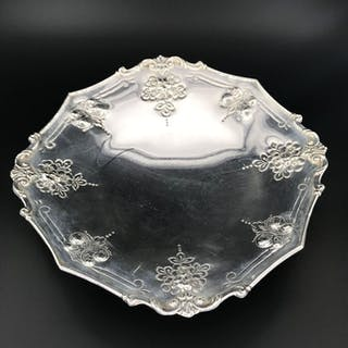 Centerpiece (1) - .800 silver - Italy - mid 20th century