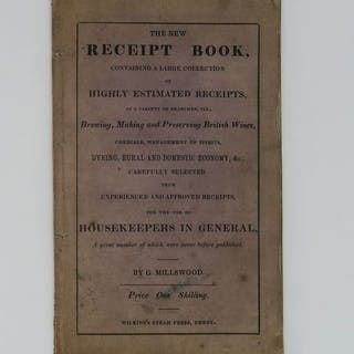 G. Millswood - The New Receipt Book