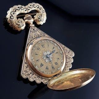 Ottoman pocket watch- Women - 1850-1900