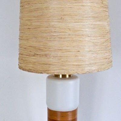Jacob E. Bang attributed - Kastrup Holmegaard - Lampe de table