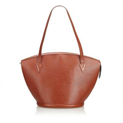 moderno y elegante en moda amplia selección venta caliente online Louis Vuitton - Epi Saint Jacques Long Strap Bolso de ...