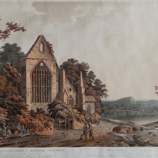 I.W. Barrett - Part of Tintern Abbey, Monmouthshire, Wales